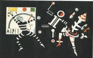 Kurt Schmidt Man at the dashboard 1924